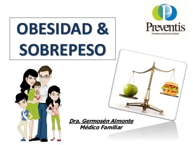 OBESIDAD & SOBREPESO Dra. Germosén Almonte Médico Familiar