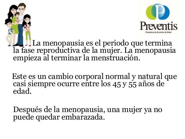 Charlas Para Pacientes: MENOPAUSIA Slide 3