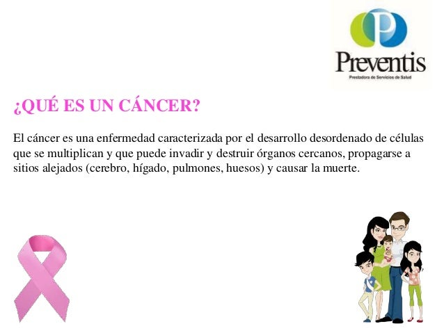 Charlas Para Pacientes: Prevencion Cancer Mama Slide 2
