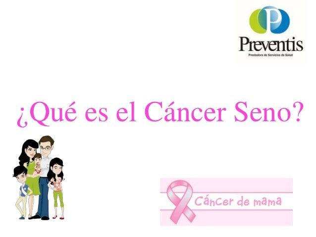 Charlas Para Pacientes: Prevencion Cancer Mama Slide 3