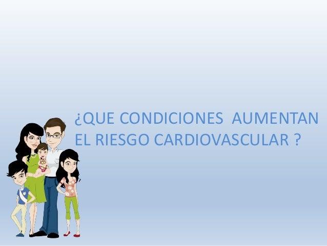 Charlas Para Pacientes: Prevencion Cardiovascular Slide 3