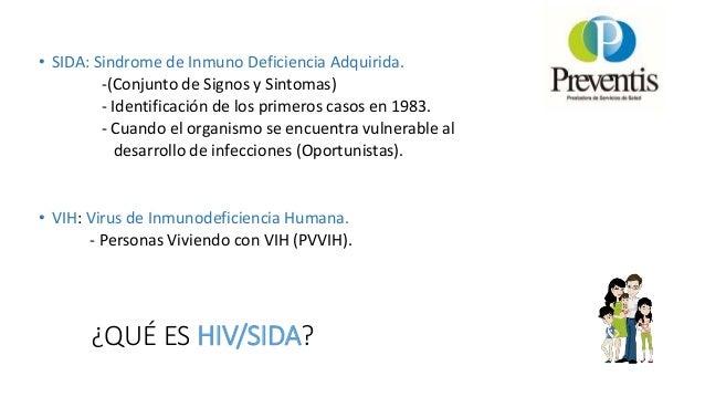 Charlas preventis. Virus Inmunodefienciencia Humana Slide 3