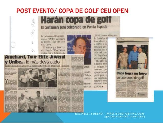 POST EVENTO/ COPA DE GOLF CEU OPEN                 ROCHELLI SUBERO - WWW.EVENTOSTIPS.COM-                                 ...