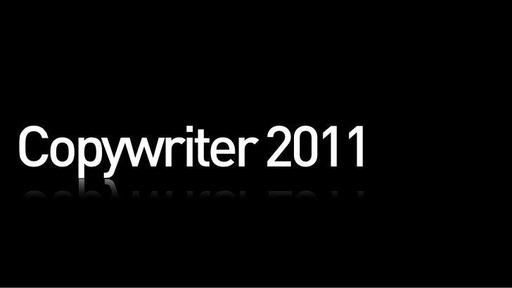 Copywriter 2011