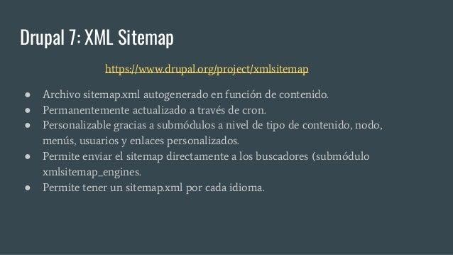xml sitemap drupal module