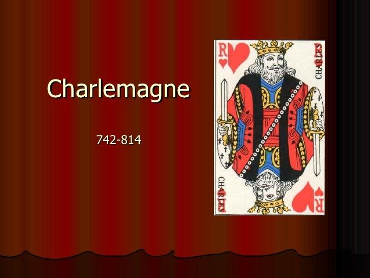 Charlemagne 742-814