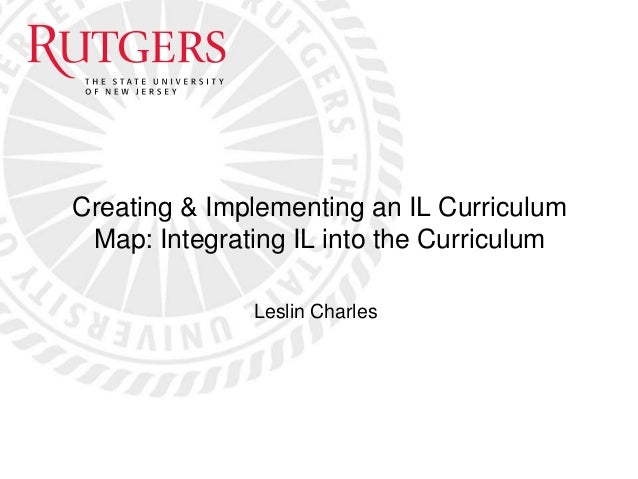 Creating and implementing an information literacy