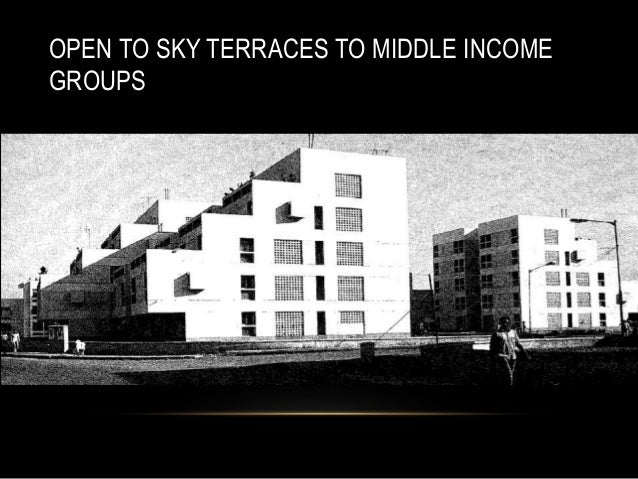 OPEN TO SKY TERRACES TO MIDDLE INCOME GROUPS