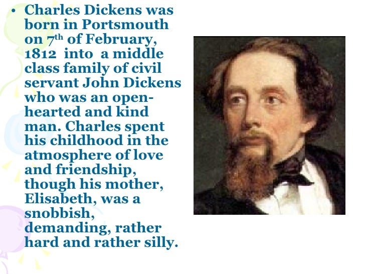 charles dickens biography summary