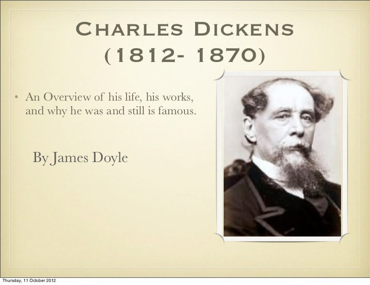 essay on charles dickens life