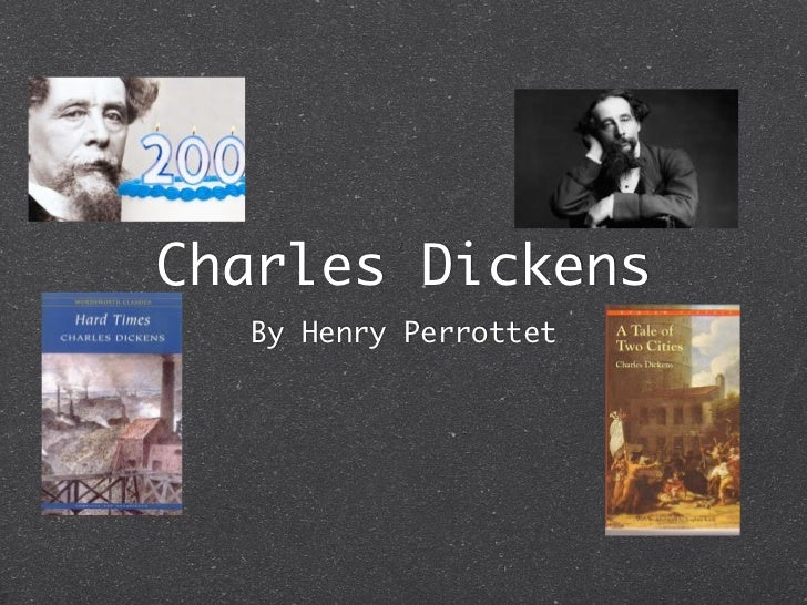Charles Dickens  By Henry Perrottet