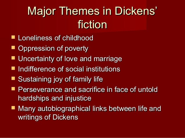 exploring the major themes in charles dickens great expectations Great expectations is one of charles dickens's most famous novels it's a great story let's get on with it students can explore the choices the filmmakers have made to set the scene in which young pip first meets the escaped convict abel magwitch.