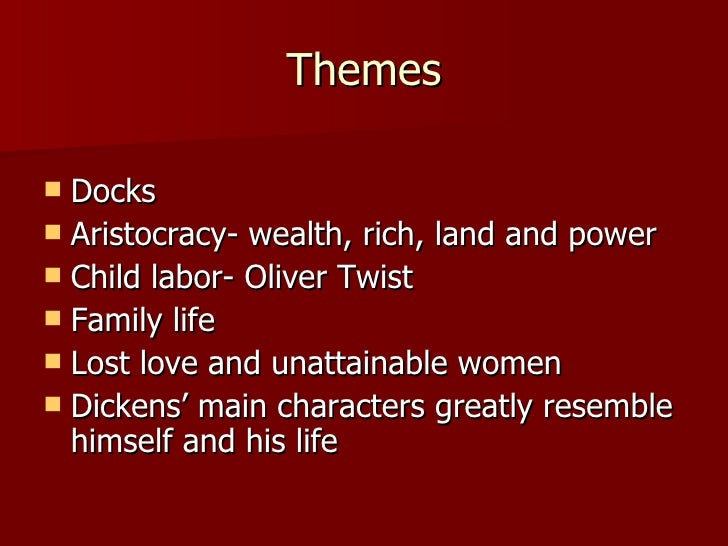 the great expectations and the themes of love redemption and isolation by charles dickens 2018-7-18 get an answer for 'what are the main themes in great expectations by charles dickens(please include explanations of these themes)' and find homework help for other great expectations questions at enotes.