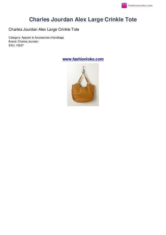 Charles Jourdan Alex Large Crinkle ToteCharles Jourdan Alex Large Crinkle ToteCategory: Apparel & Accessories>HandbagsBran...
