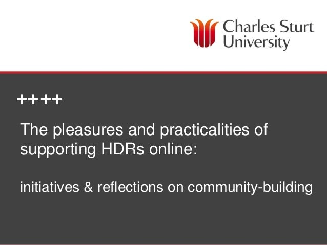Cassily Charles, HDR Academic Writing Coordinator | Lisa McLean, Manager Research & Grad Studies, Faculty of Ed The pleasu...
