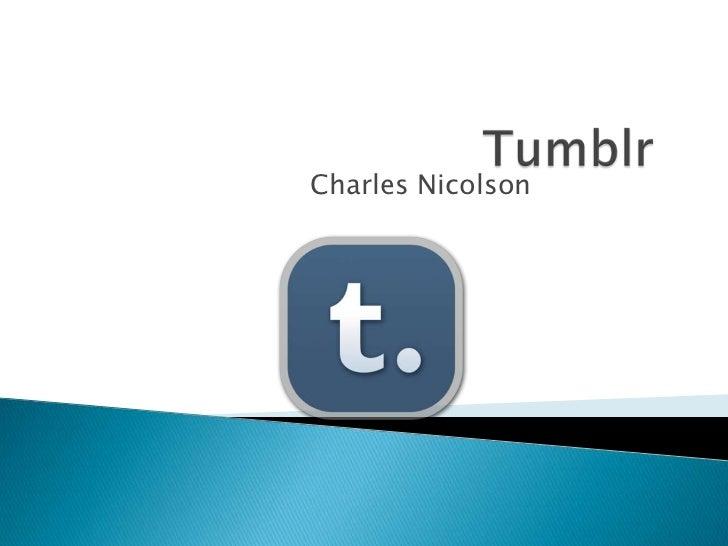 Charles Nicolson