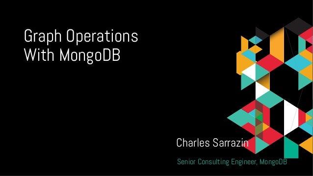 Webinar: Working with Graph Data in MongoDB