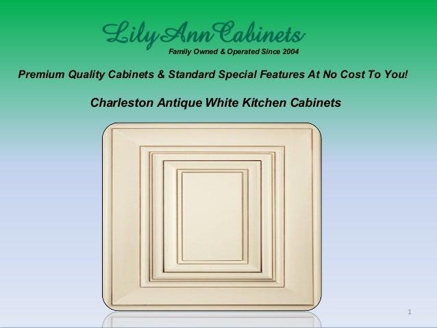 Charleston Antique White kitchen cabinets design, ideas by ...