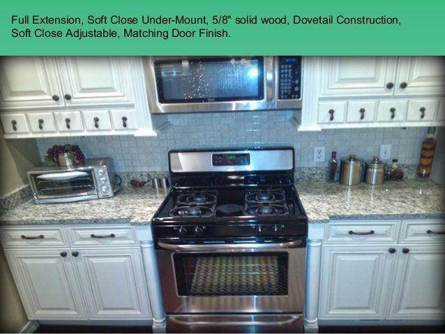 Charleston Antique White kitchen cabinets design, ideas by Lily Ann C…