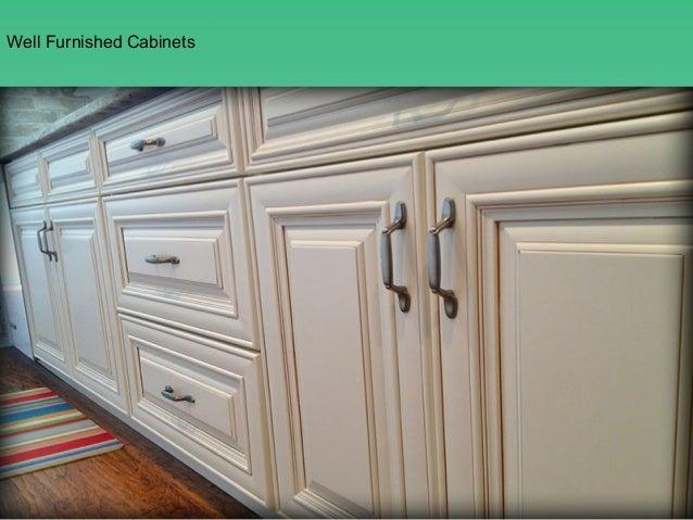 Charleston Antique White Kitchen Cabinets ...