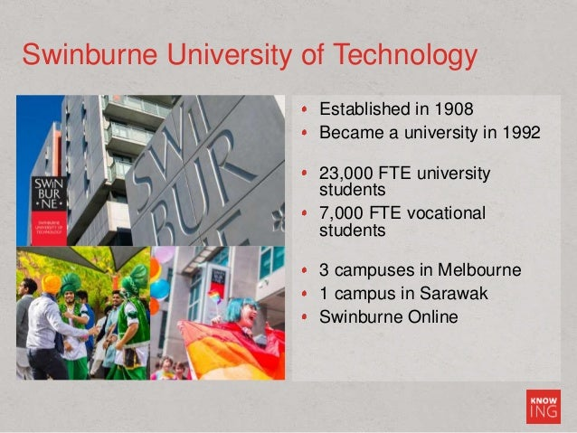 Established in 1908 Became a university in 1992 23,000 FTE university students 7,000 FTE vocational students 3 campuses in...