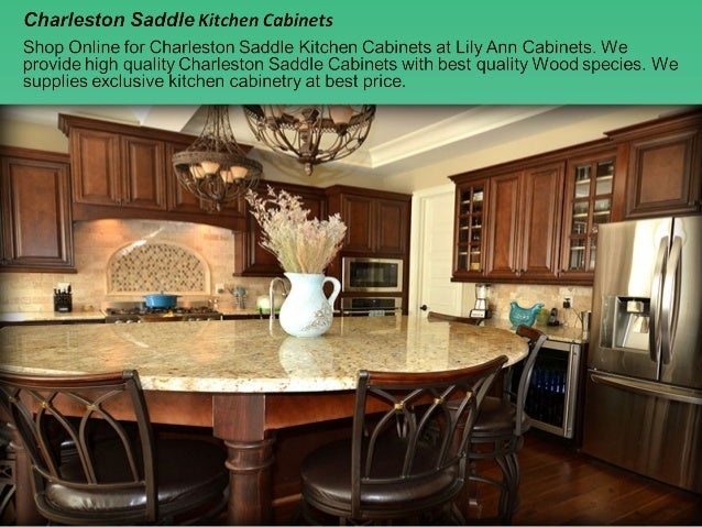 Charleston Saddle Kitchen Cabinets Design, Ideas By Lily Ann Cabinets
