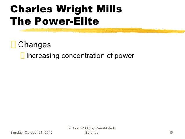 Charles wright mills essay