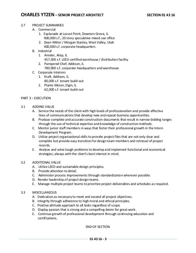 resume projects section exle 28 images sections of a resume out