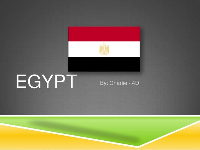 EGYPT  By: Charlie - 4D