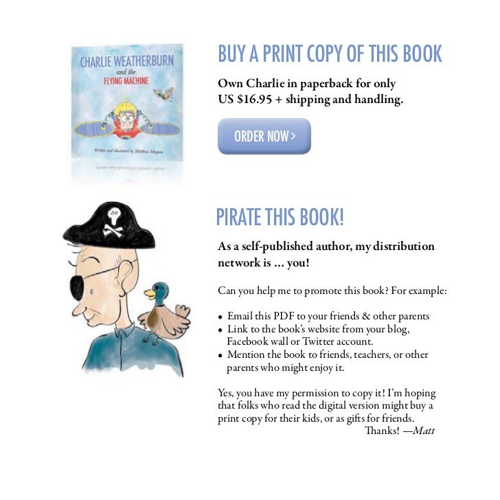 CHARLIE WEATHERBURN                 and the        FLYING MACHINE   Written and illustrated by Matthew Magain