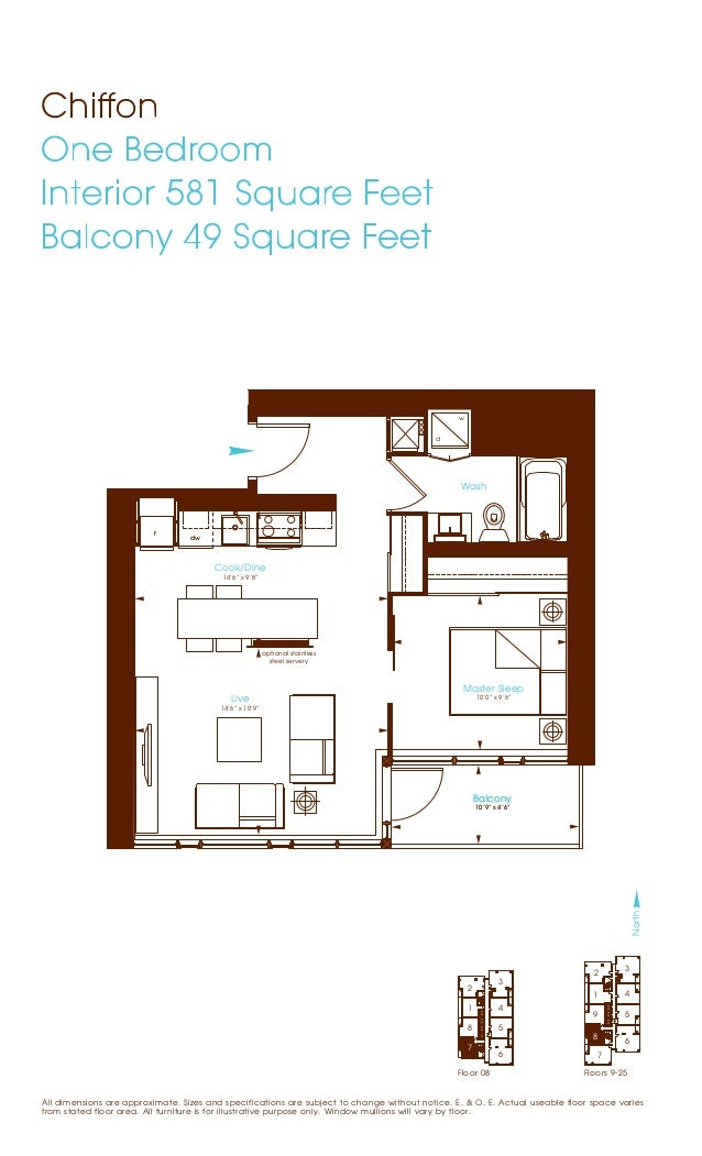 27 twobedroom floors
