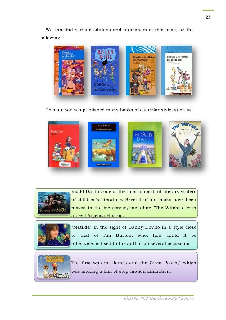 Charlie And The Chocolate Factory Book Critique