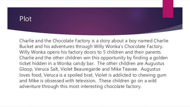 """charlie and the chocolate factory book The character charlie bucket in the 1971 film """"willy wonka and the chocolate  factory,"""" based on a book by roald dahl in an interview this."""
