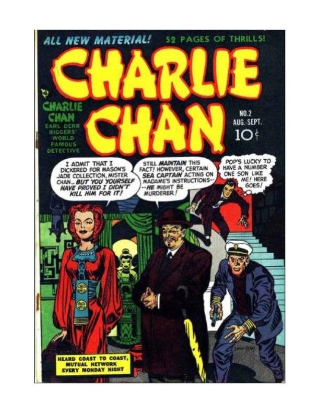 Charlie Chan Free Comic Book 1