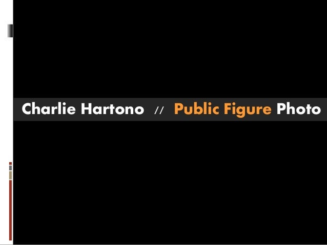 Charlie Hartono // Public Figure Photo