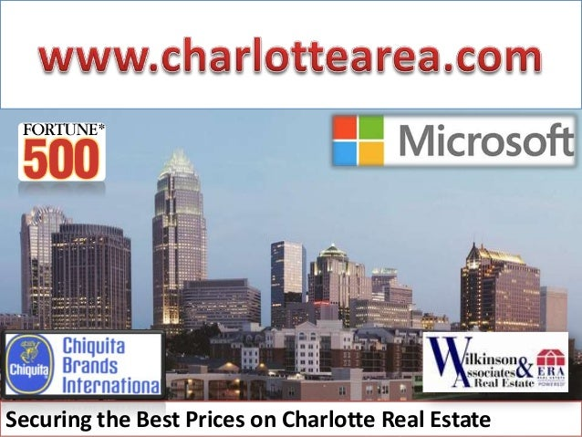 Securing the Best Prices on Charlotte Real Estate