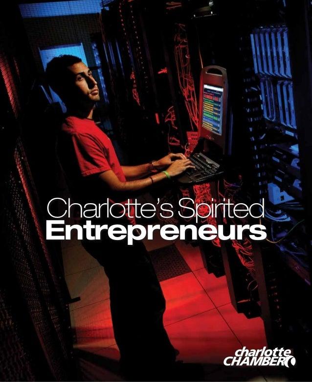 Charlotte's Spirited                EntrepreneursCharlotteChamber.com             Charlotte's Spirited Entrepreneurs 1