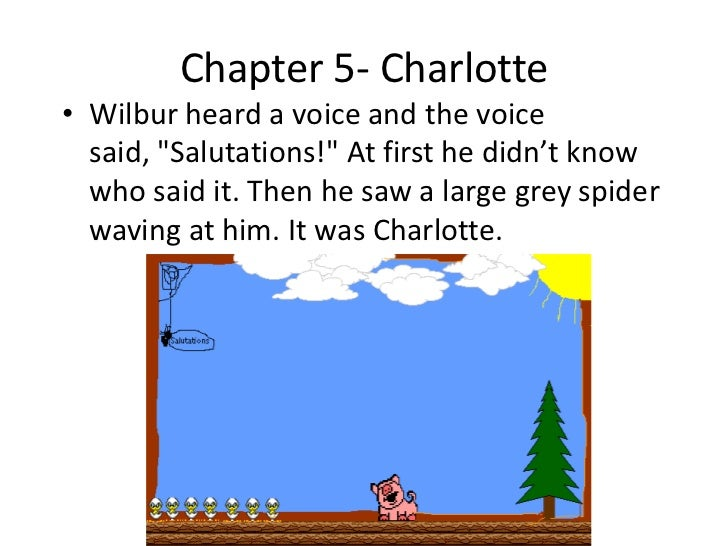 charlottes web essay example How can writing an expert book establish you as an authority  and foremost  put themselves in the background (see his essay, an approach to style)   here's the famous swing passage from charlotte's web, to whose example  many.