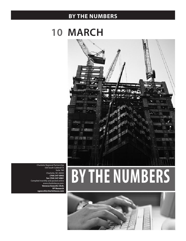 BY THE NUMBERS                        10 MARCH                                            BY THE NUMBERS      Charlotte Re...