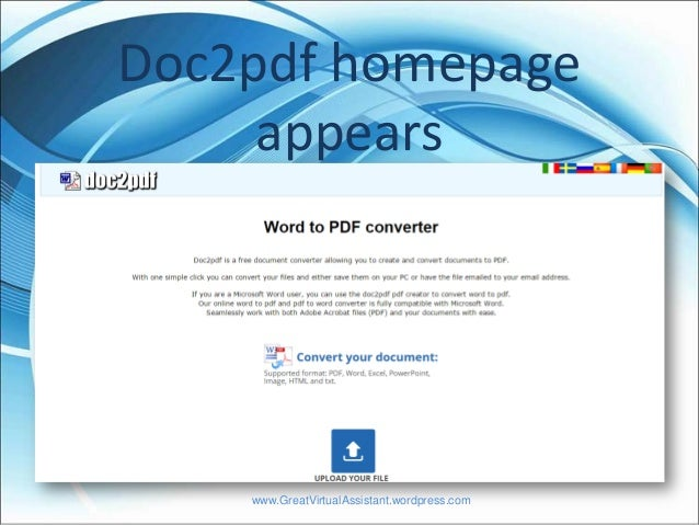 How to Convert PPT into PDF file format Online