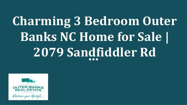 Charming 3 Bedroom Outer Banks NC Home for Sale | 2079 Sandfiddler Rd