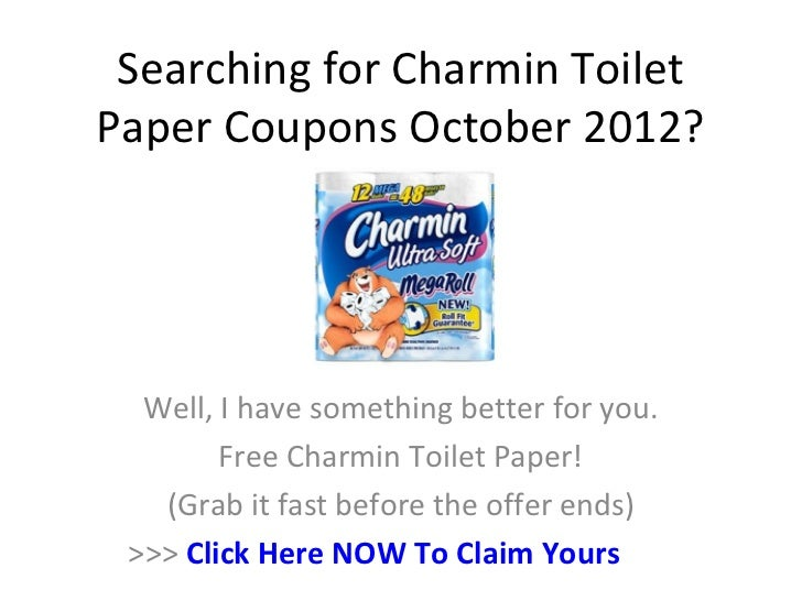 toilet paper coupons online