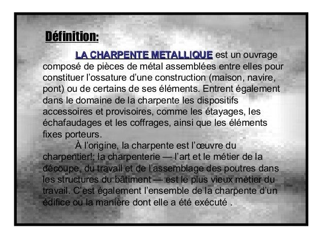 charpente metalique 01. Black Bedroom Furniture Sets. Home Design Ideas