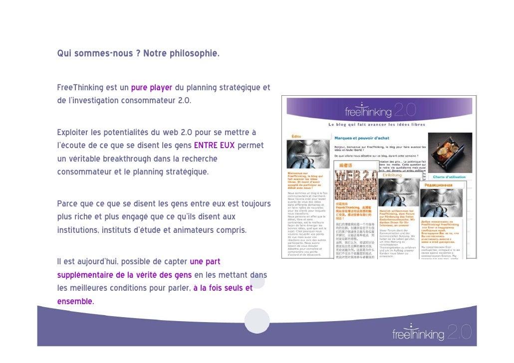 Xavier CHARPENTIER de FREE-THINKING 2.0, Se mettre à l'écoute des bruits de la vie ( PARIS 2.0, Sept 2009) Slide 2