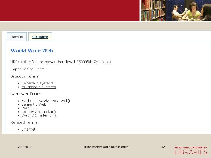 2012-06-01   Linked Ancient World Data Institute   12