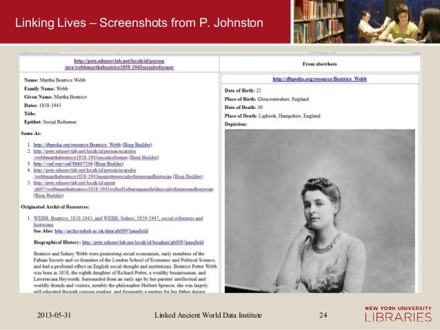 Linked Ancient World Data Institute2013-05-31 24Linking Lives – Screenshots from P. Johnston
