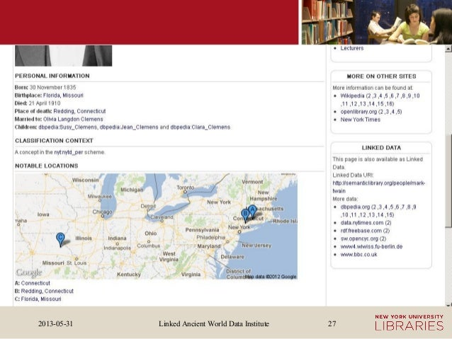 Linked Ancient World Data Institute2013-05-31 27