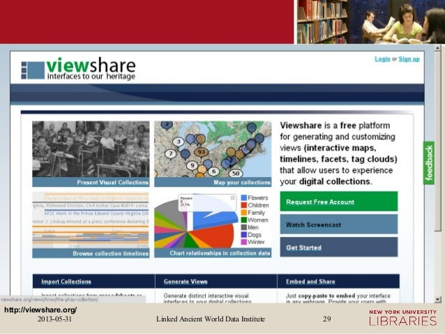 Linked Ancient World Data Institute2013-05-31 29http://viewshare.org/