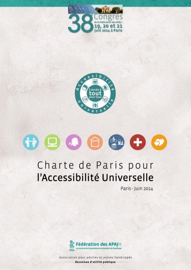 SOMMAIRE  • Avant-Propos du Président P. 02  • L'accessibilité universelle : une vraie société du vivre-ensemble P. 04  • ...