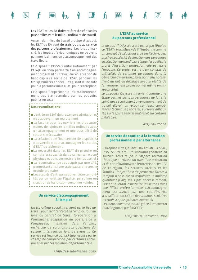 Charte Accessibilité Universelle • 15  Vie civique, une citoyenneté à part entière  Dans la société inclusive et donc de n...